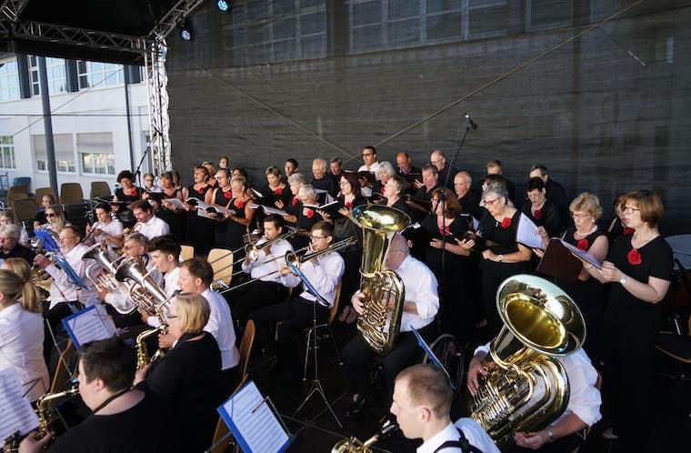 PROJET CHORAL GASPERICH SYRDALL Fête de la Musique 2017